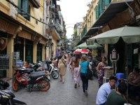 Старый квартал в Ханое
