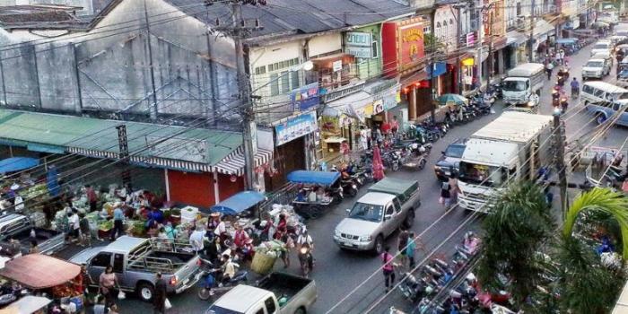 Рынок Downtown Market на Пхукете