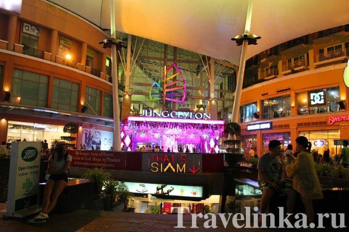 jungceylon торговый центр phuket таиланд