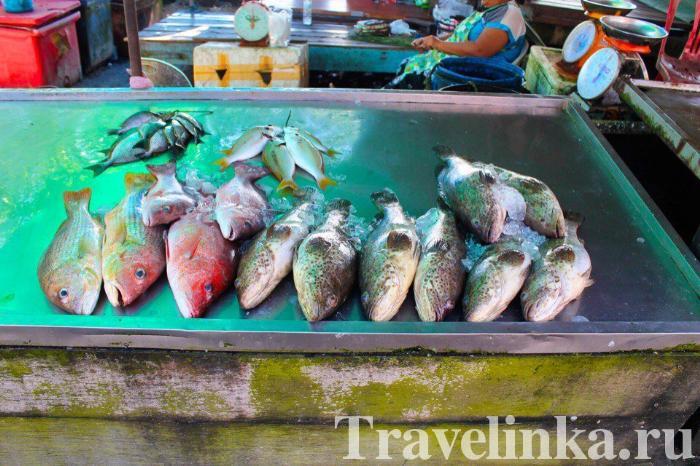 Рыбный рынок Равай, Пхукет