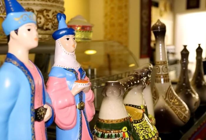 сувениры из казахстана