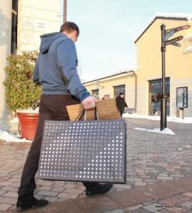 шоппинг в аутлете Серравалле, фото аутлета Серравалле, Serravalle outlet, схема