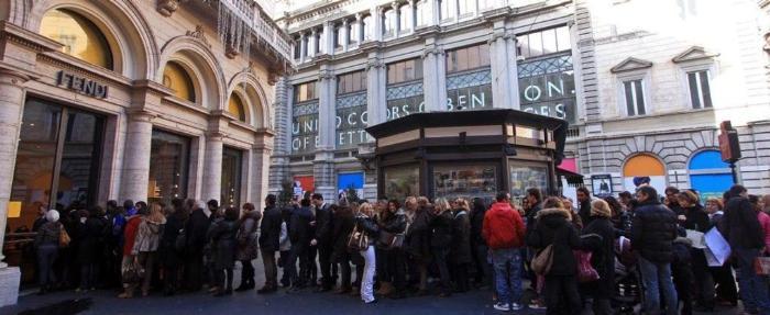 Brendovij shopping v Milane