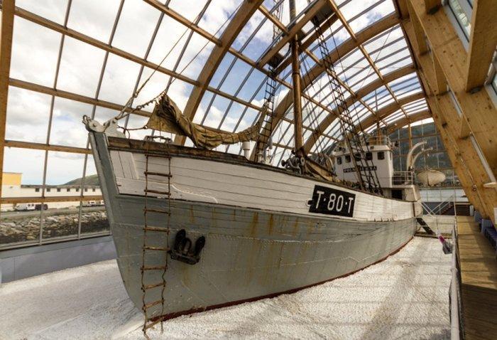 Тромсе - Судно-музей «Полярная звезда»