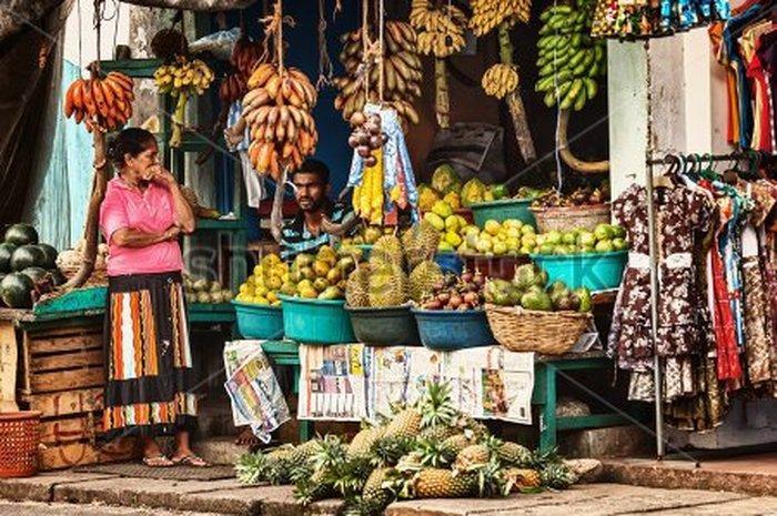 Рынок в Бентоте