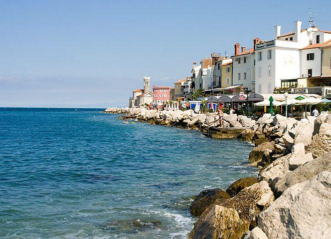Порторож - город на берегу моря