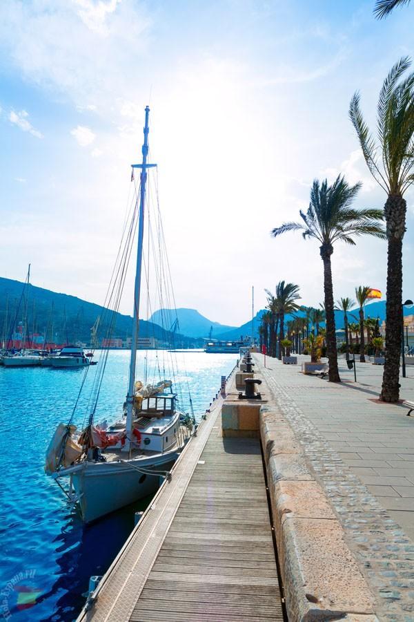 Морской порт в Картахене