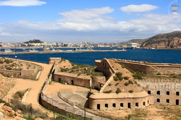Руины древних оборонительных сооружений