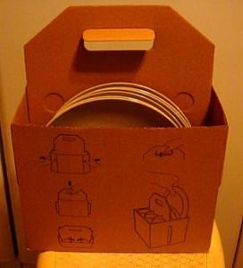 Упаковка для посуды магазина ИКЕА