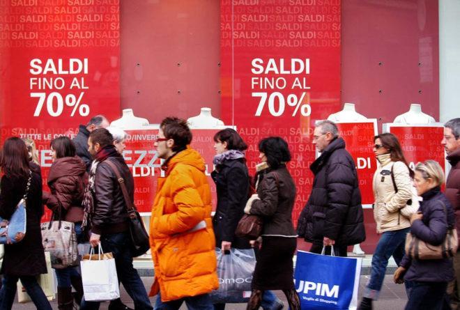 Распродажи в Европе