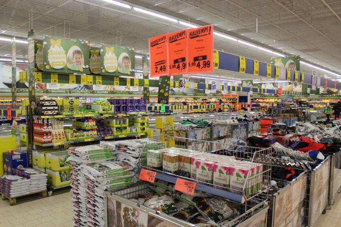 Покупки в Финляндии