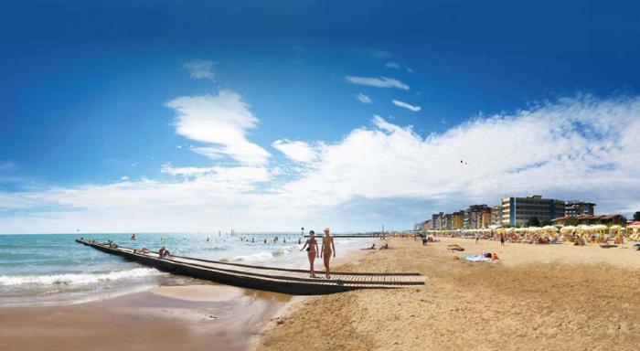 Пляжи Лидо-ди-Езоло, Италия