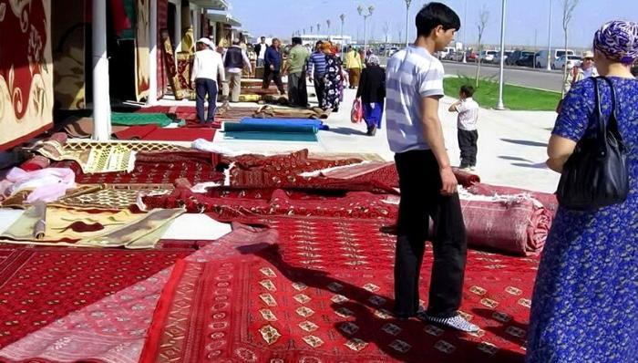 ковры в туркмении