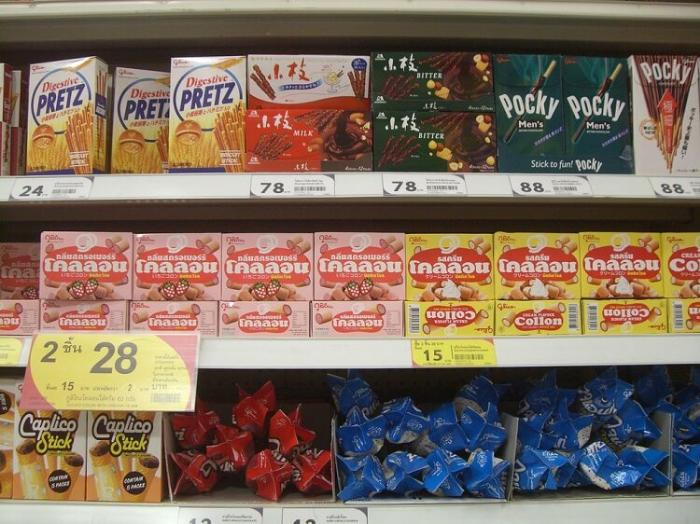 Сладкое в Таиланде цены
