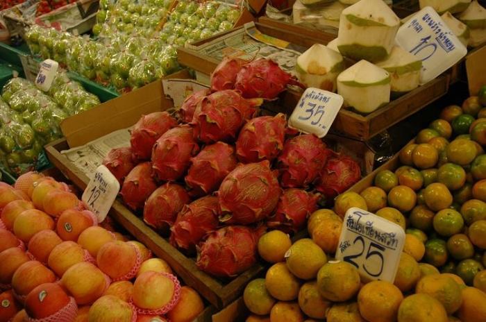 Цены на фрукты в Тайланде