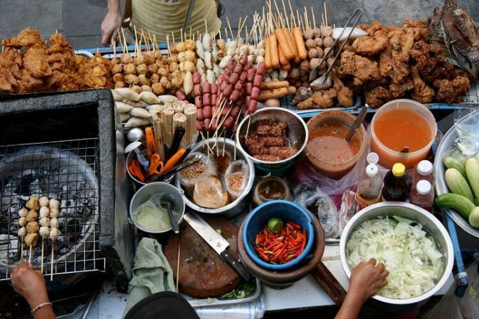 Цены на уличную продукты в Тайланде