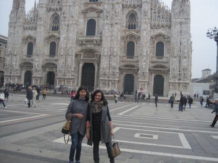 Шоппинг в Милане с Кариной Каприэловой