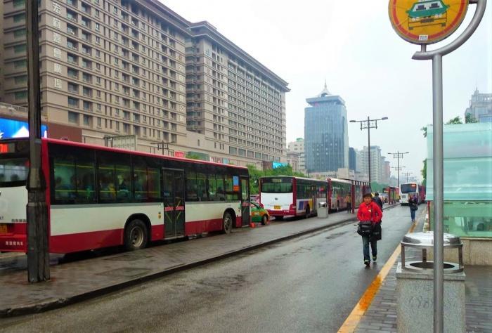 Городские автобусы Сианя.JPG