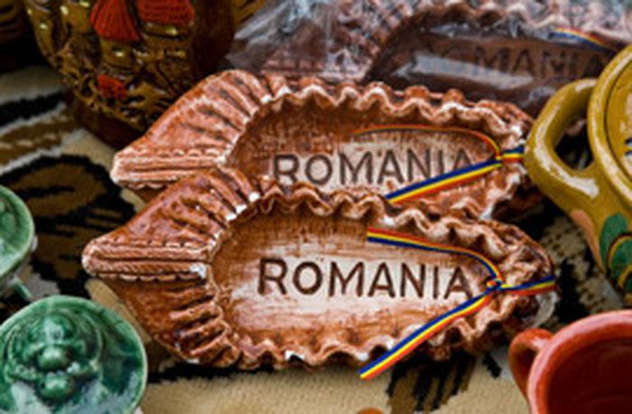 Сувениры из керамики в Бухаресте