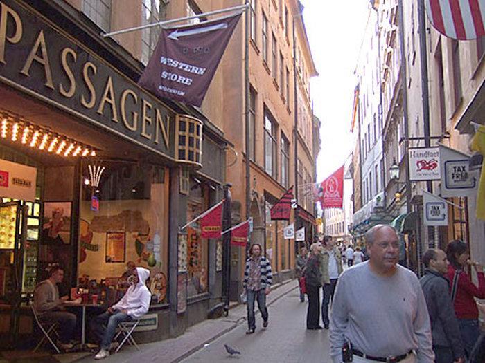 Сувенирные лавки в Стокгольме