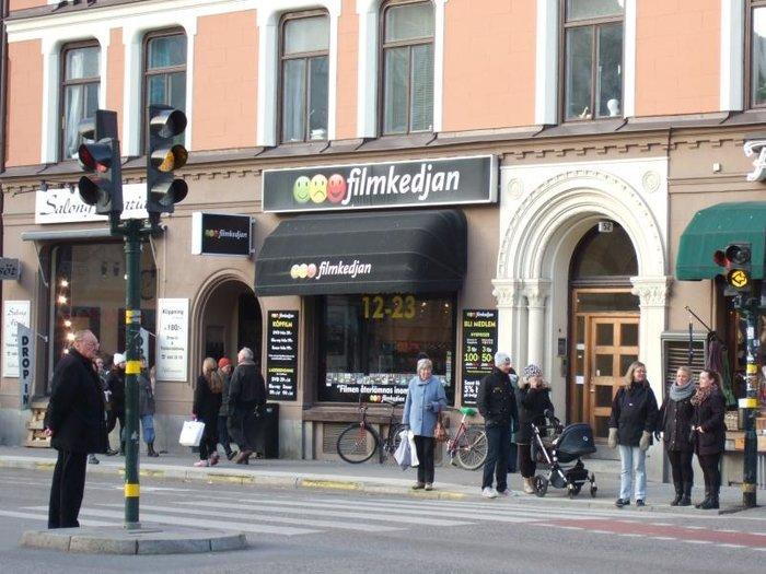 Магазины на улице Hornsgatspuckeln