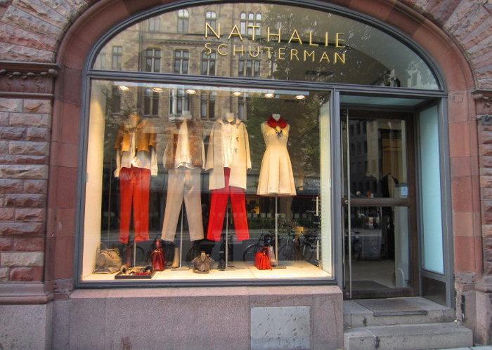 Район Östermalm - магазин Nathalie Schuterman