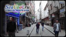 Одна из улиц Хопы
