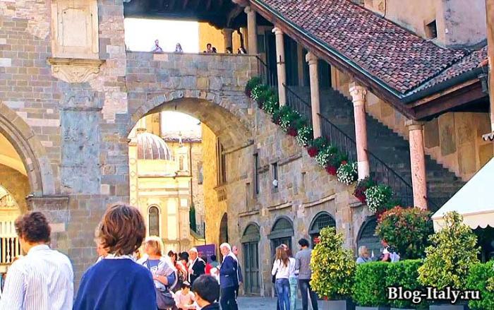 Бергамо - верхний город