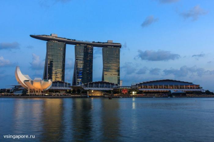 Торговый центр Marina Bay Sands