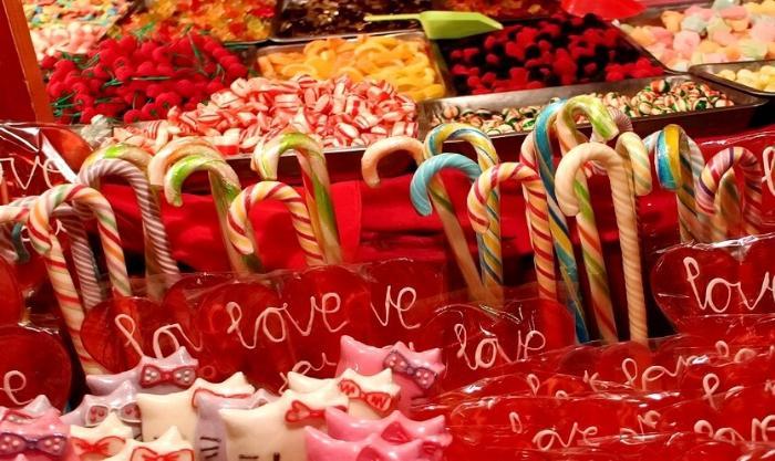 конфеты из швеции