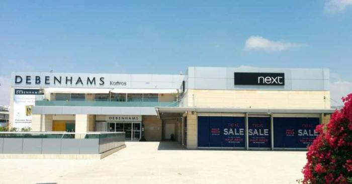 Торговый центр Debenhams, Пафос, Кипр