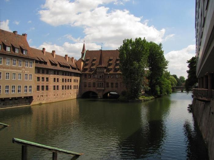 Каналы в Нюрнберге.JPG