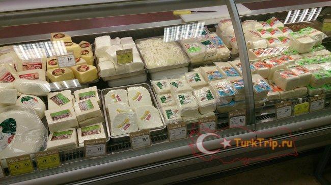 Сыр в супермаркете Мигрос