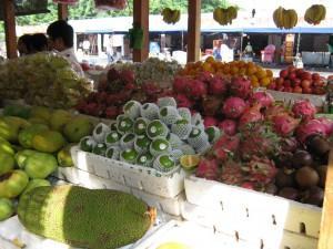 Фото: Тропические фрукты