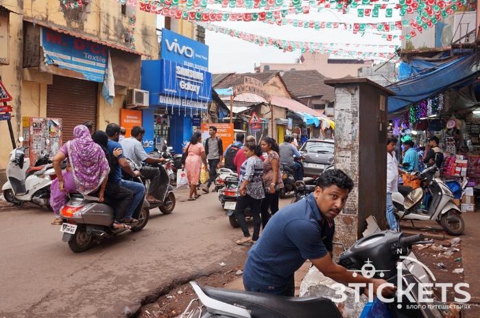 Город Маргао, Индия, Гоа