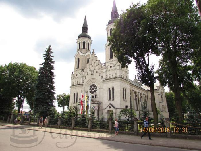 Улица Mostowa в Августове и Корчма Мостки?
