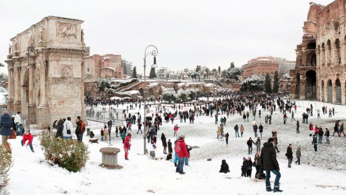 Зимний Колизей