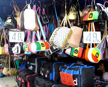 вещевой рынок в Паттайе