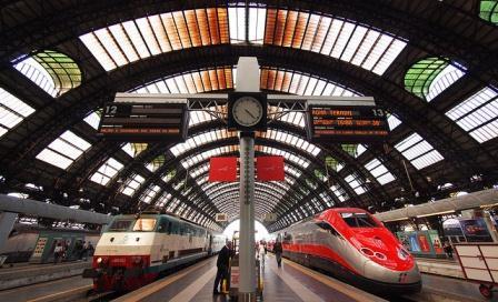 Русскоговорящий гид в Милане, фото, железнодорожный вокзал Централе, Милан, Италия