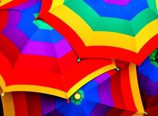Шоппинг в Бразилии - зонтик