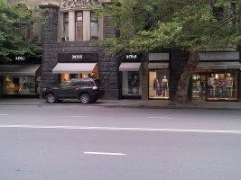 Брендовые магазины в центре Тбилиси