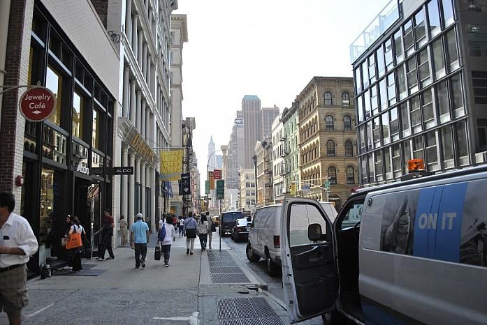 Sohо-модный район в южной части Манхеттена