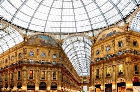 Русскоговорящий гид в Милане, фото, Галерея Виктора Эммануила II, Милан, Италия