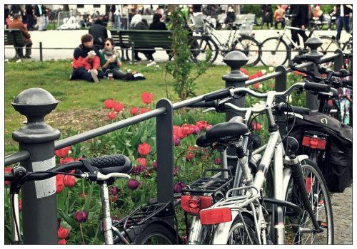 Берлин в мае