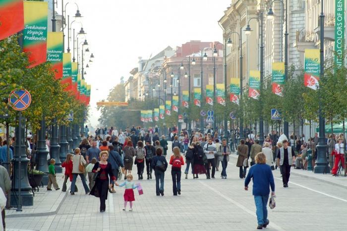 Проспект Гядиминаса в Вильнюсе.JPG