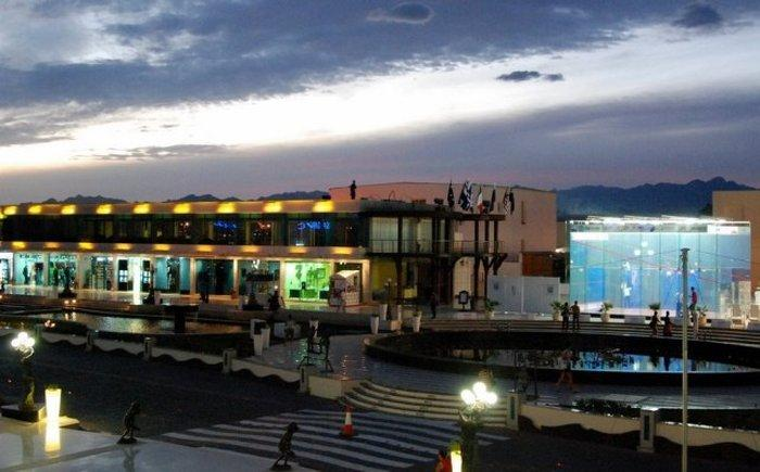 Магазины на площади Сохо