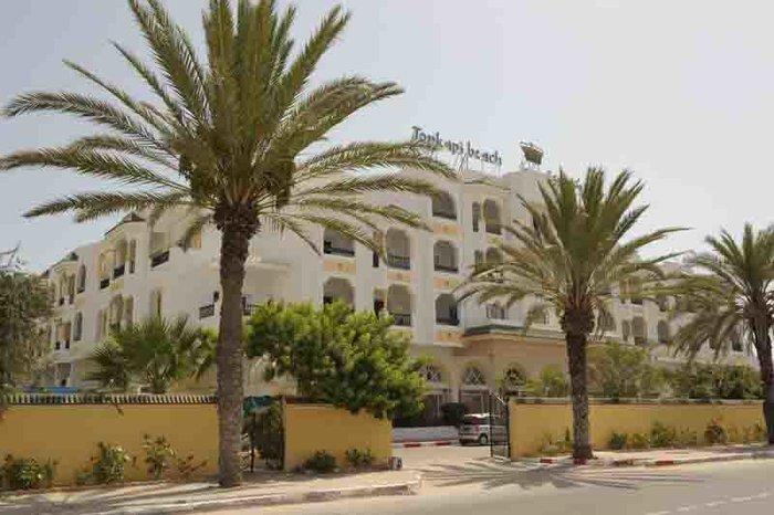 Небольшой городской отель Topkapi Beach Mahdia 3*