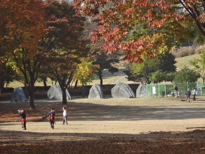 Сеул Олимпийский парк