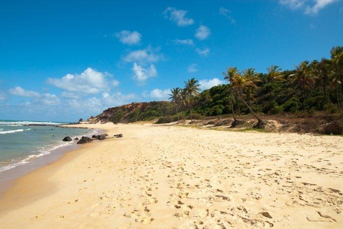 Песок с пляжей Бразилии