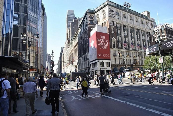 Macy's- самый большой универмаг мира
